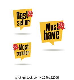 Best Seller, Must Have & Most Popular Labels