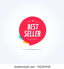 Best Seller Shopping Marketing Tag