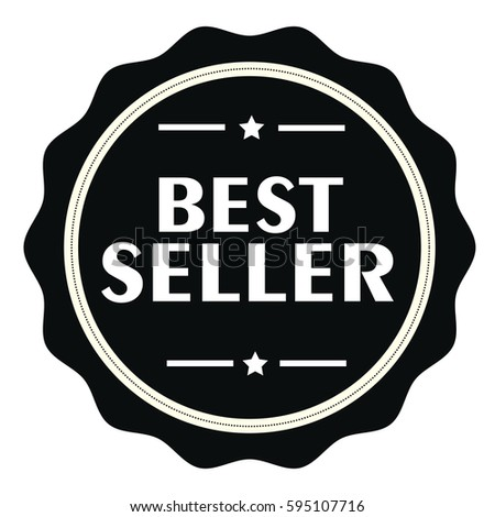 best seller stamp sign seal logo stock vector royalty free