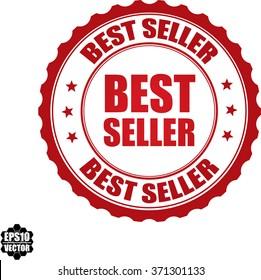 Best seller stamp.Vector.