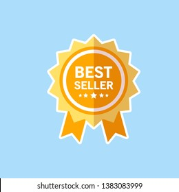 Best Seller Vector Flat Design