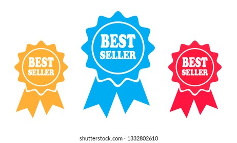 Best seller vector icons