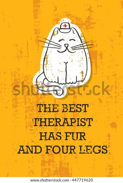 Vector De Stock Libre De Regalías Sobre Best Therapist Has