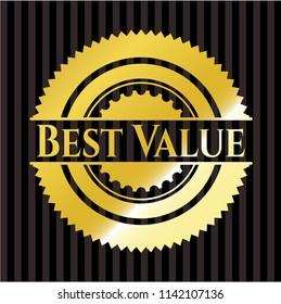 Best Value golden emblem