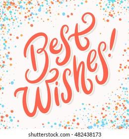 best wishes images stock photos vectors shutterstock