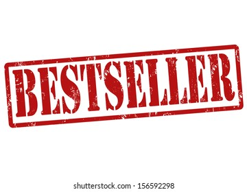 Bestseller grunge rubber stamp on white, vector illustration