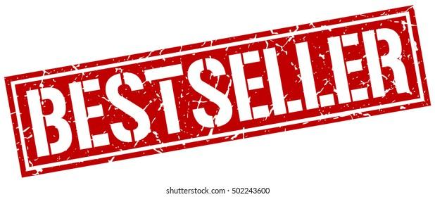 bestseller. grunge vintage bestseller square stamp. bestseller stamp.