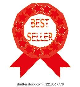 Bestseller icon vector symbol