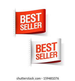 Bestseller labels. Vector.