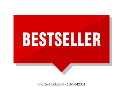 bestseller red square price tag