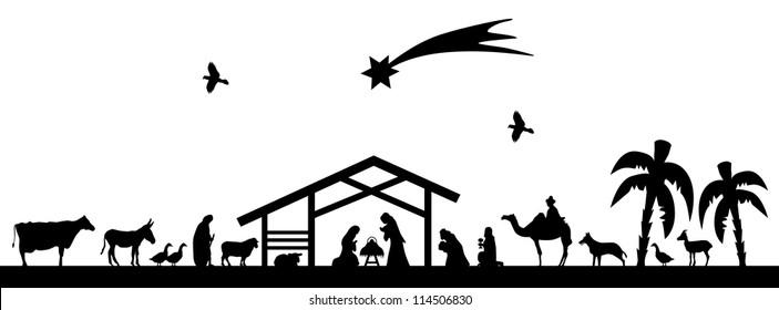 Bethlehem silhouette