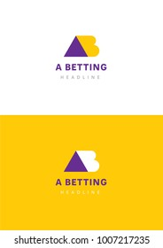 A betting company logo template.