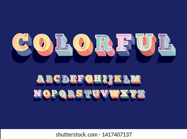 beveled bold serif typography design vector/illustration