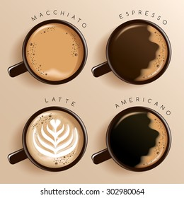 Beverage Menu : Vector Illustration