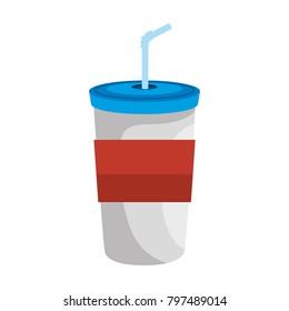 beverage in plasttic cup