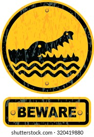 alligator sign images stock photos vectors shutterstock