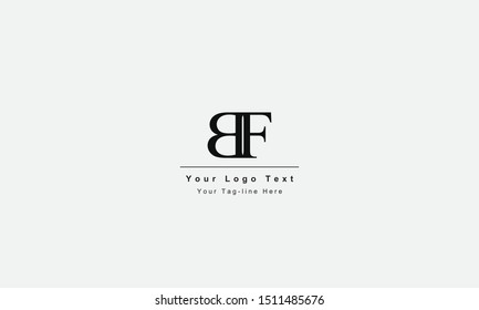 BF or FB letter logo. Unique attractive creative modern initial BF FB B F initial based letter icon logo