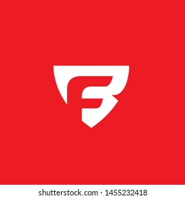 BF or FB monogram this one can be used for any brand or logo very bold simple and modern