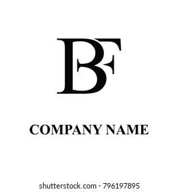 bf initial logo design