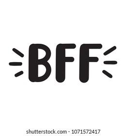 Bff Images Stock Photos Vectors Shutterstock