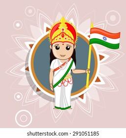 Bharat Mata - Indian Goddess