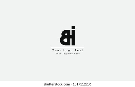 BI or IB letter logo. Unique attractive creative modern initial BI IB B I initial based letter icon logo