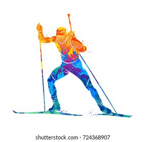 Biathlon Abstract sport