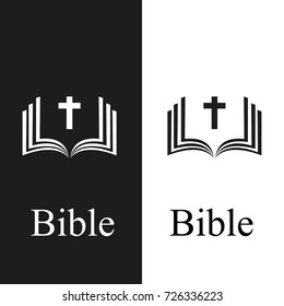 Bible Church logo. the name of the mission. Bible Society.