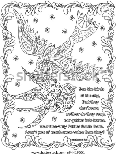 - Bible Verses Coloring Book Page Stock Vector (Royalty Free) 694419001
