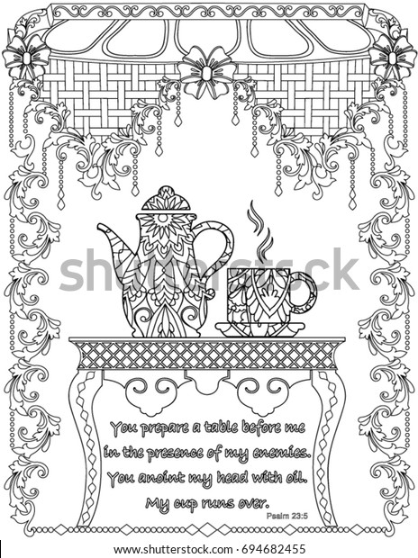 - Bible Verses Coloring Book Page Stock Vector (Royalty Free) 694682455