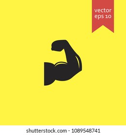 biceps. biceps icon. sign design. Vector EPS 10.