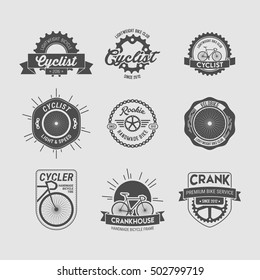 BICYCLE BADGE AND LOGO