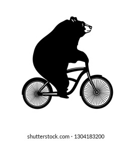 Bicycle bear print