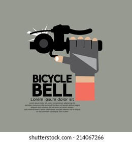 Bicycle Bell Graphic Vector Illustration