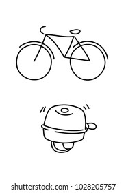 Bicycle and bike bell