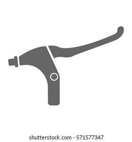 Bicycle brake lever icon.