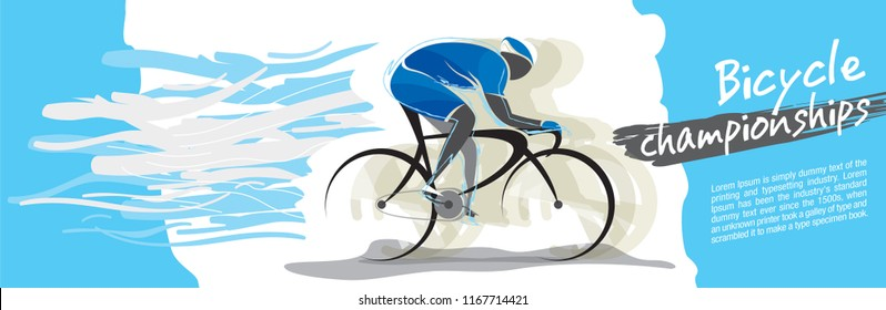 Bicycle championship vector