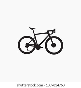 bicycle flat icon vector design