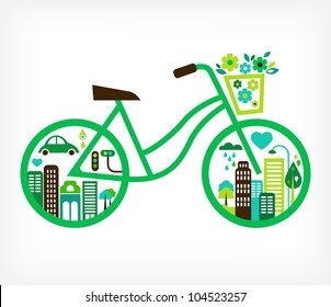 Bicycle Green City