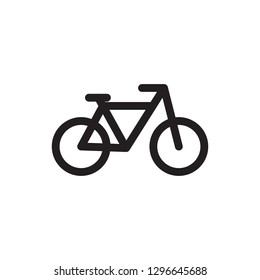 Bicycle icon. Bike icon vector. Vector illustration.
