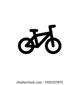 Bicycle icon with line style. Pixel perfect icon. Vector