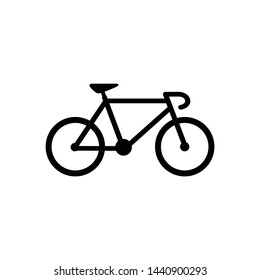 Bicycle icon symbol vector illustration