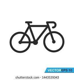 bicycle icon vector vector design illustration