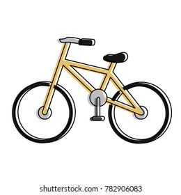 Bicycle isolated symbol