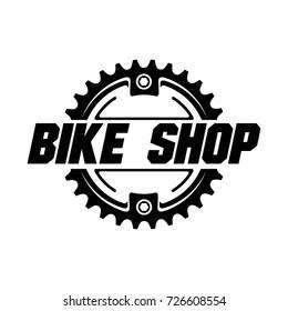 Bicycle logo design. Vector