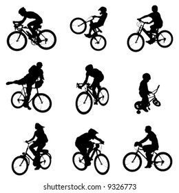 bicycle vector 4