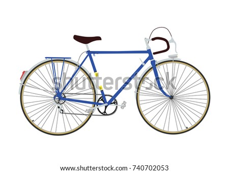 Bicycle Vector Clip Art Ride Bike Stock Vector Royalty Free