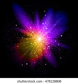 Big Bang. Explosion. ?1