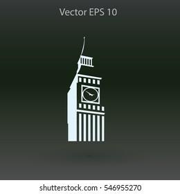 Big Ben London vector illustration