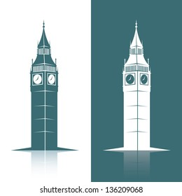 Big Ben - vector illustration